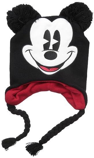 e4e55087097 Amazon.com  Disney Big Boys Mickey Mouse Laplander Cold Weather Hat ...