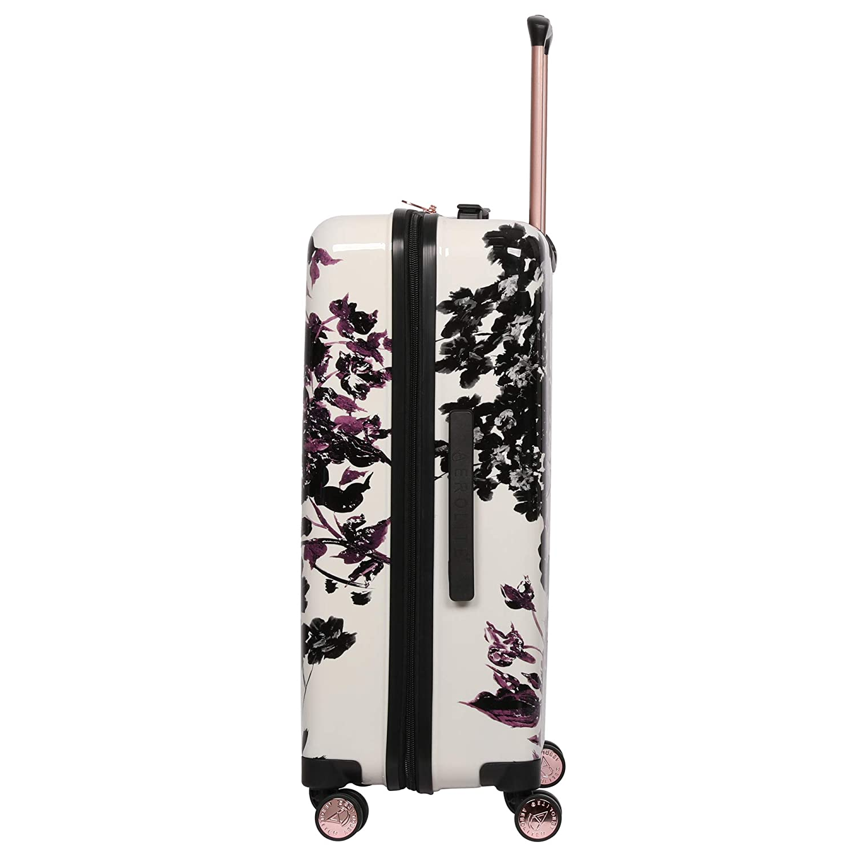 69cm 79cm Floral Noir 55cm Bagage Cabine Aerolite Set de 3 Valises Rigides /à 4 roulettes Polycarbonate