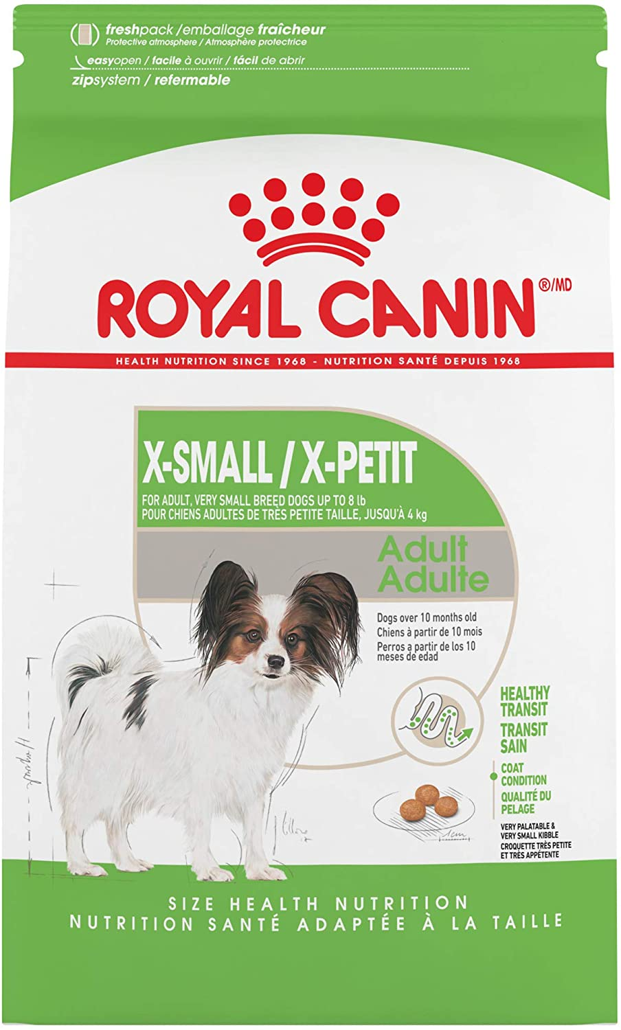 Royal Canin Size Health Nutrition X-Small Adult Dry Dog Food
