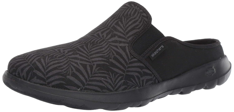 Noir gris Skechers Go Walk Lite-Sunset Mule pour Femme 37 EU