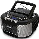 クマザキエイム Bearmax CDラジオカセットレコーダー/プレーヤー CD-889