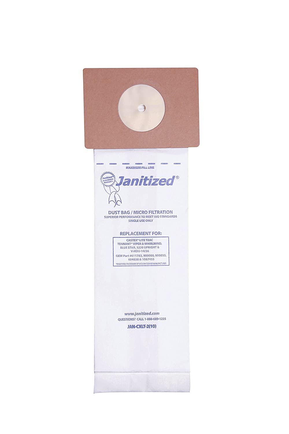 Amazon.com: janitized jan-cxlt-2 (10) Premium Sustitución ...
