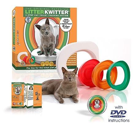 Litter Kwitter LK1 3-Schritt Katzen Toiletten Trainingssystem ...