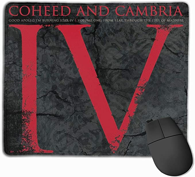 SHruizhuo Gaming Mouse Pad with Stitched Edge,Customized Rectangle Mouse Mat Non-Slip Rubber Base Mousepad for Computers Laptop Black Pug Dog Isolated on A Black Background