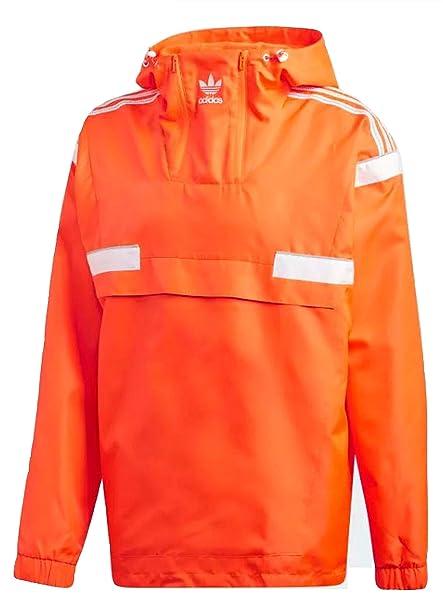 3d27583d7 adidas Originals Men's BR8 Anorak Hoody Pullover Windbreaker Jacket  (Medium, ...
