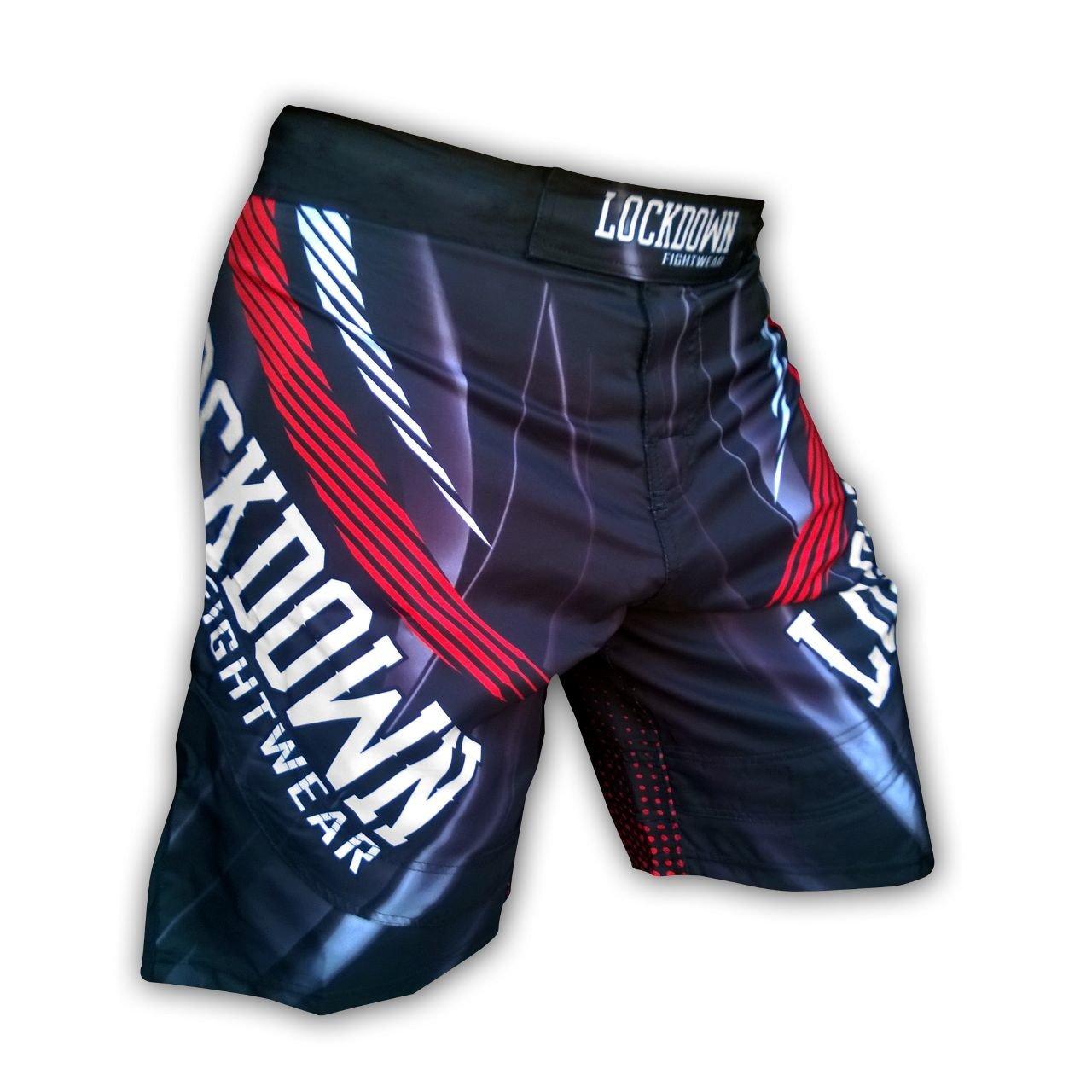 AQF Shorts UFC MMA Grappling kurz Kick Boxen Herren Muay Thai Hosen Gym Wear LD