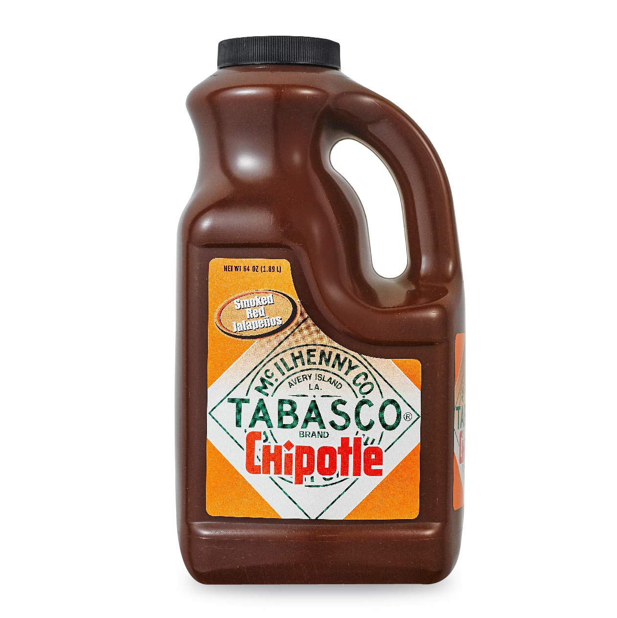 Amazon Com Tabasco Chipotle Pepper Sauce 64 Oz Hot Sauces Grocery Gourmet Food