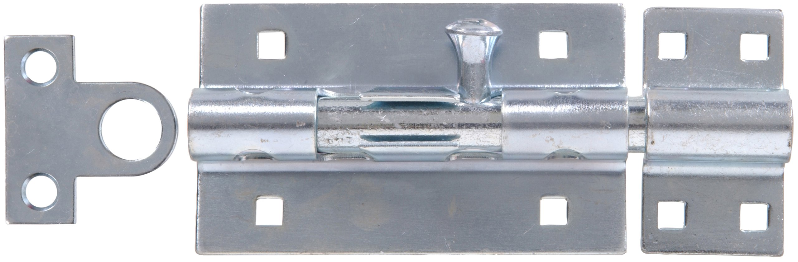 The Hillman Group 851000 5-Inch Extra Heavy Gate Barrel Bolt , Zinc Plated