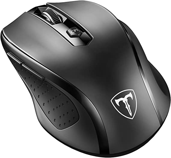 VicTsing MM057 2.4G Wireless Portable Mobile Mouse Optical Mice with USB Receiver