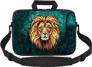 iCasso Laptop Sleeve 11.6-12.1 Inch Stylish Soft Neoprene Sleeve Case Cover Handbag for MacBook Air 11,MacBook Retina 12 Inch/iPad Pro/Ultrabook Netbook Tablet (Lion)