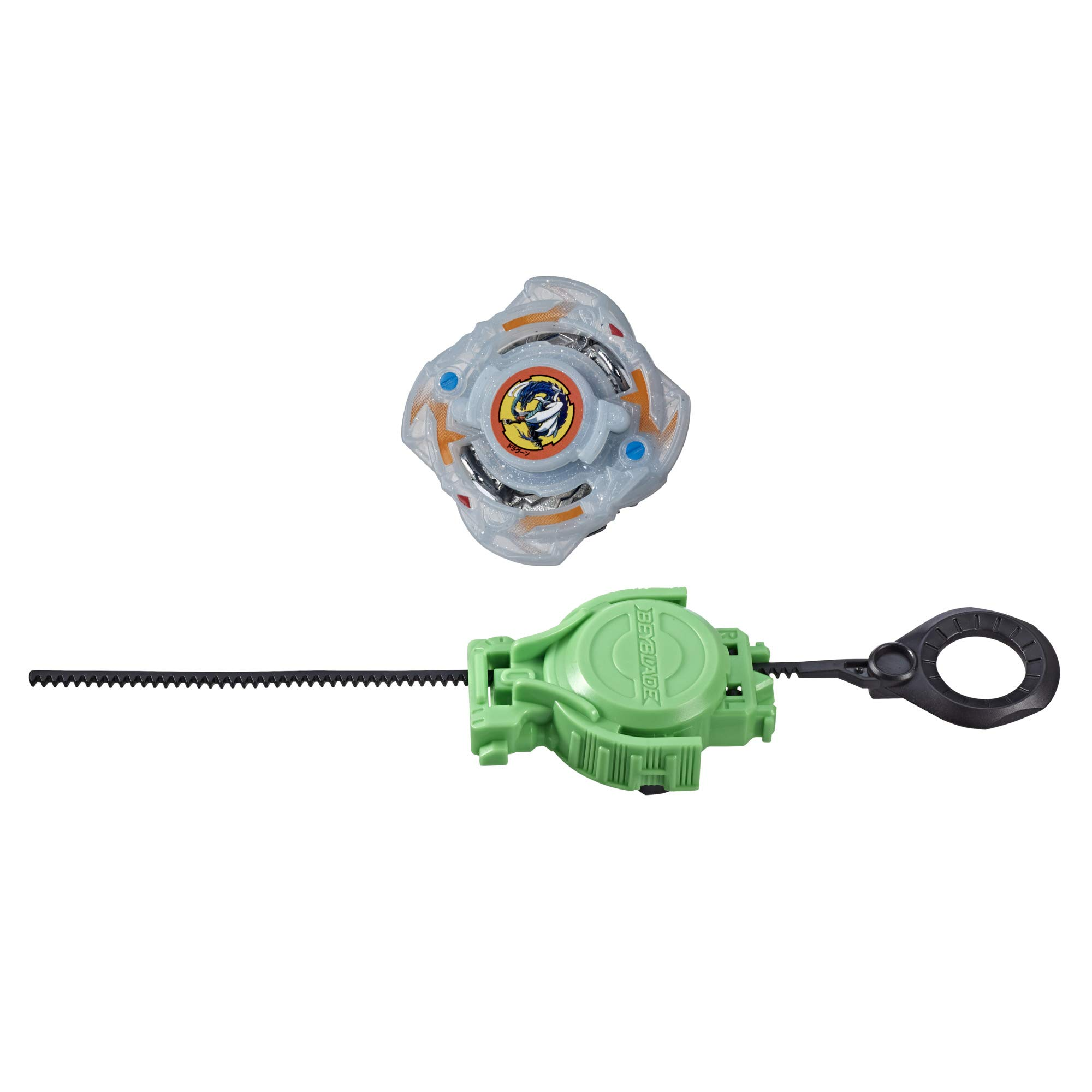 BEYBLADE Burst Rise Slingshock Fang Dragoon F Starter Pack -- Left-Spin Battling Top Toy and Right/Left-Spin Launcher, Ages 8 and Up
