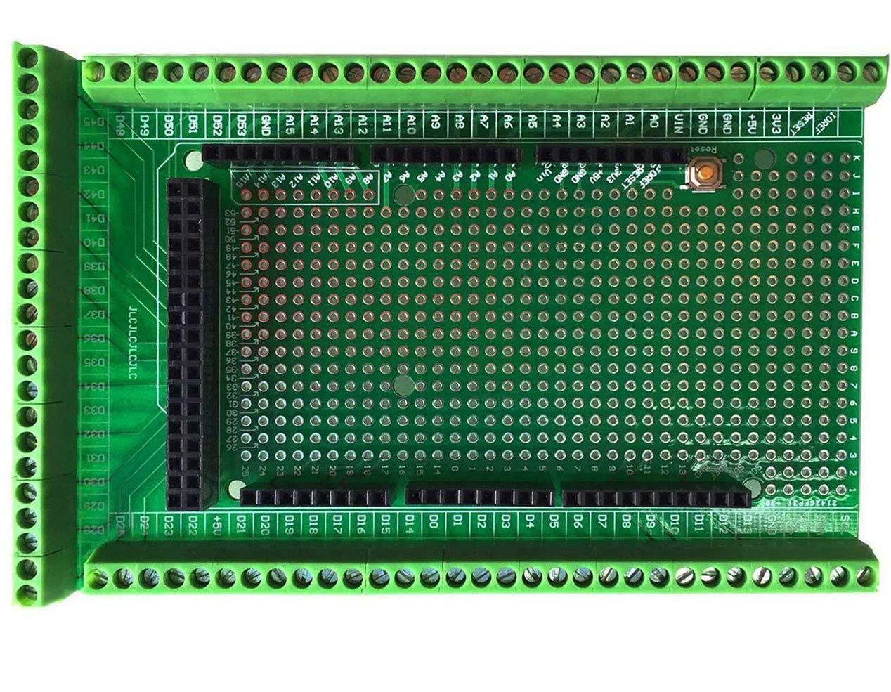 Neu MEGA-2560 Schraubklemmenblock Terminal Block Board Für Arduino Prototyp