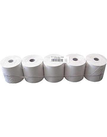 Heipa Technische Papiere - Rollos de papel térmico (sin texto impreso, 58 x 64