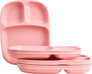 """product image for Re-Play Recycled Products, Set of 4 (10"""" Divided Tray, Blush)"""