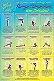 Wake Up With Surya Namaskar (Yoga Sun Salutation) Poster 24 x 36in