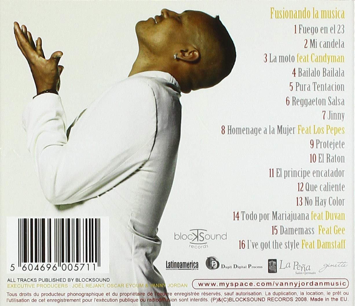 Jordan, Vanny - Fusionando la Musica (1 CD) - Amazon.com Music