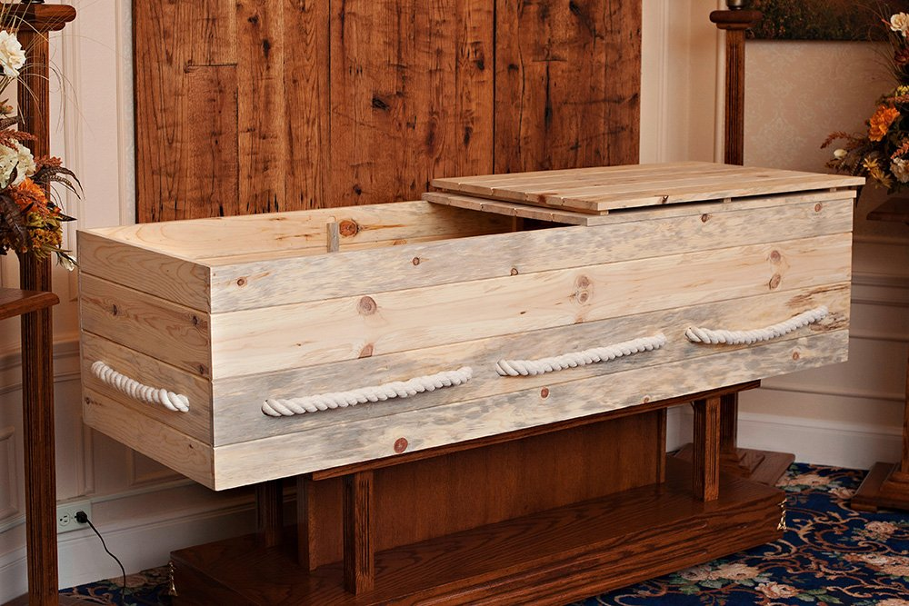 Build-Your-Own Simple Pine Casket Kit - Made from Sustainable Pine From Wisconsin's North Woods - Suitable For Any Cemetery, Natural Burial, or Cremation - Wood Casket - Wood Coffin by Northwoods Casket Company (Image #8)