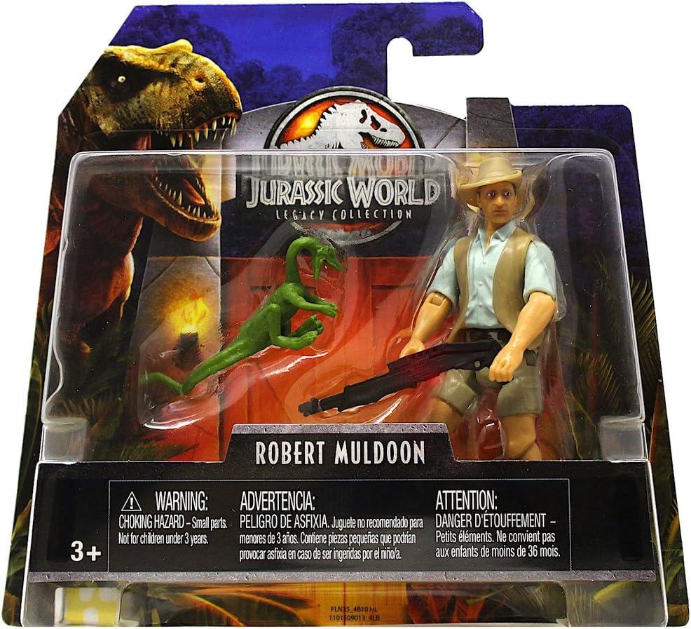 ALAN GRANT FIGURE 2 PACK 2018 FLN33 PARK Jurassic World LEGACY COLLECTION DR