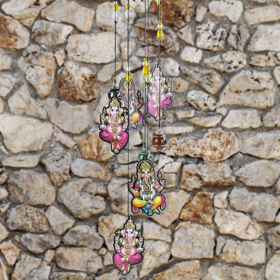 YUFENG ind Chimes Outdoor Decor,18 Metal Memorial Windchimes Wind Chimes Gift for Garden Home Yard Hanging