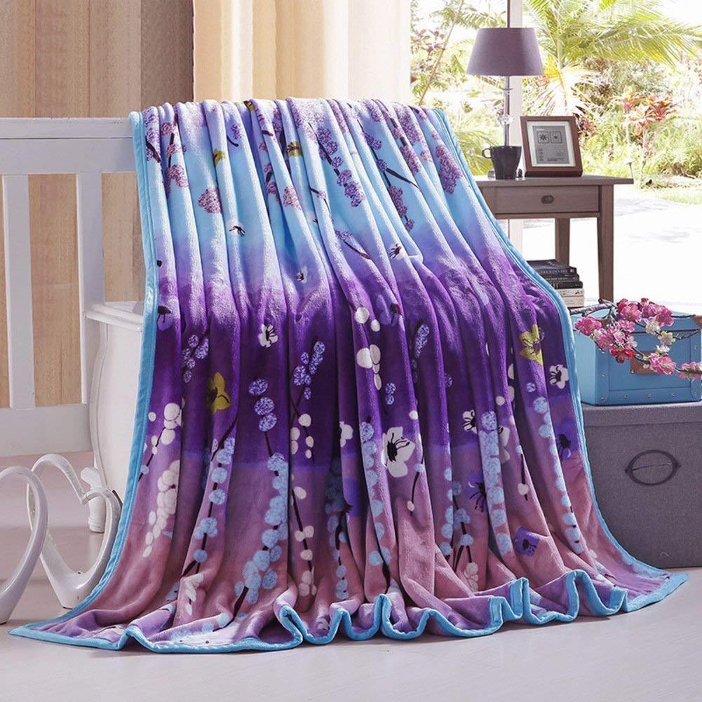 WCH ベッドの裏地の冬の厚くされたフランネルの綿毛布、暖かい単一の二重タオルのキルト毛布 ソファブランケット (Color : 200x230cm(79x91inch), サイズ : L) B07Q3G6GYF 200x230cm(79x91inch) L