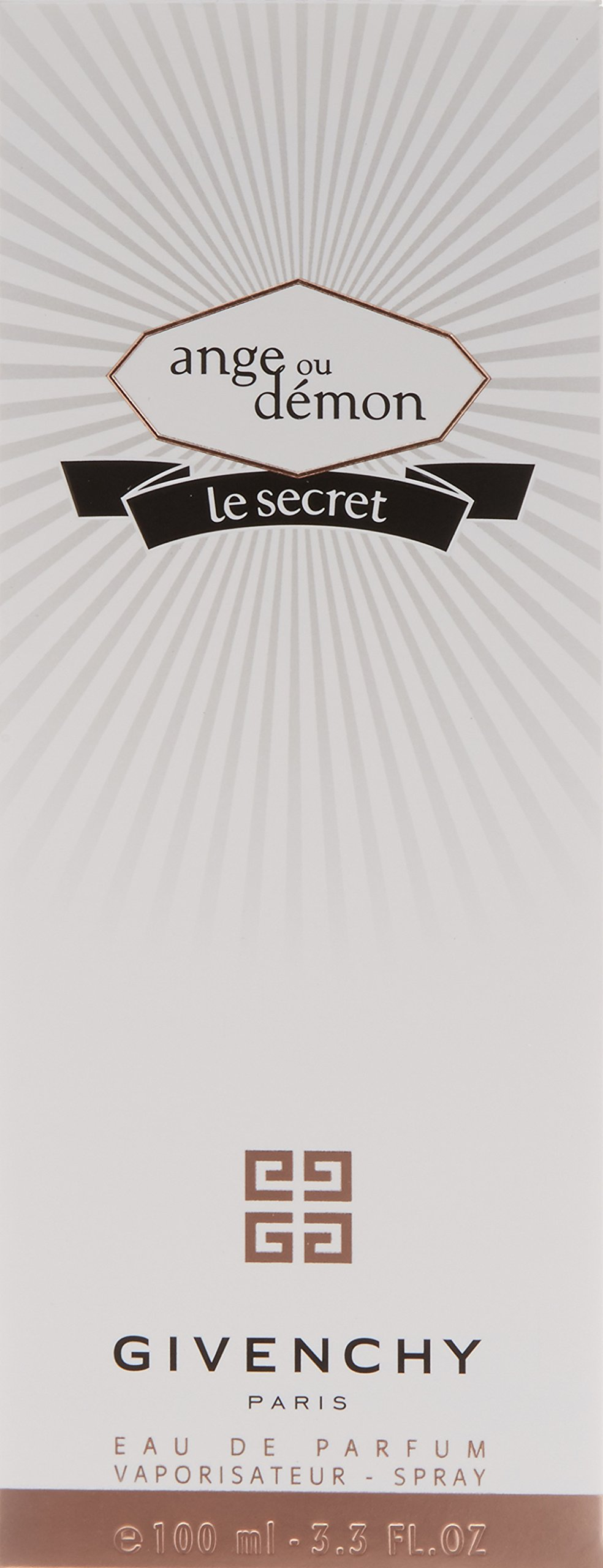 Ange Ou Demon Le Secret By Givenchy For Women Eau De Parfum Spray 3.3 Oz