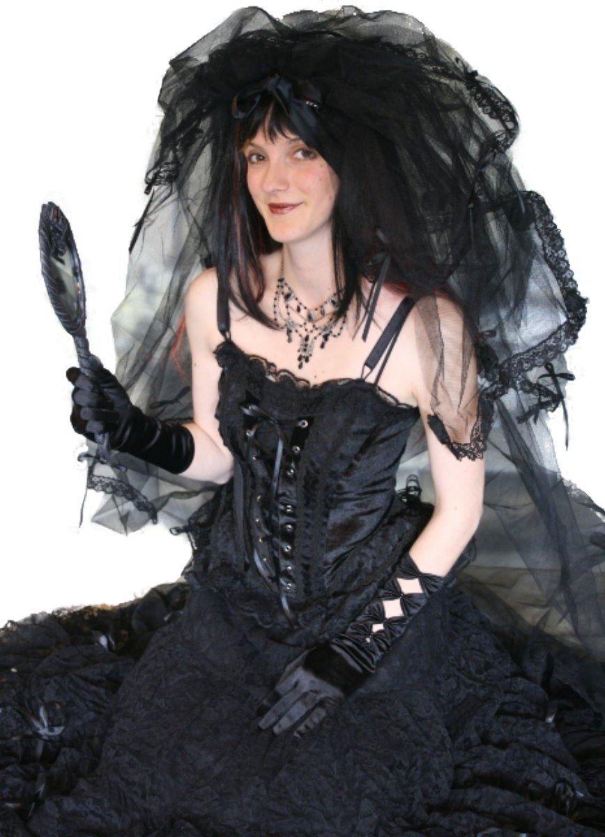 Dark Dreams Gothic Mittelalter LARP Schleier Dark Promises