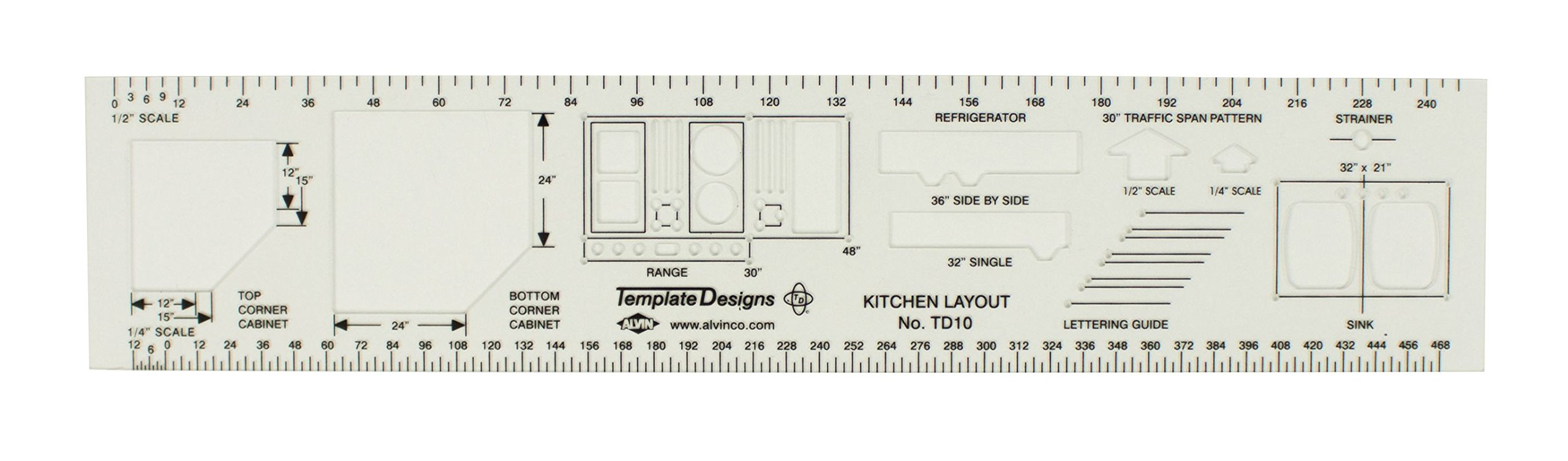 Alvin Kitchen Layout Template by Alvin & Company, Inc.