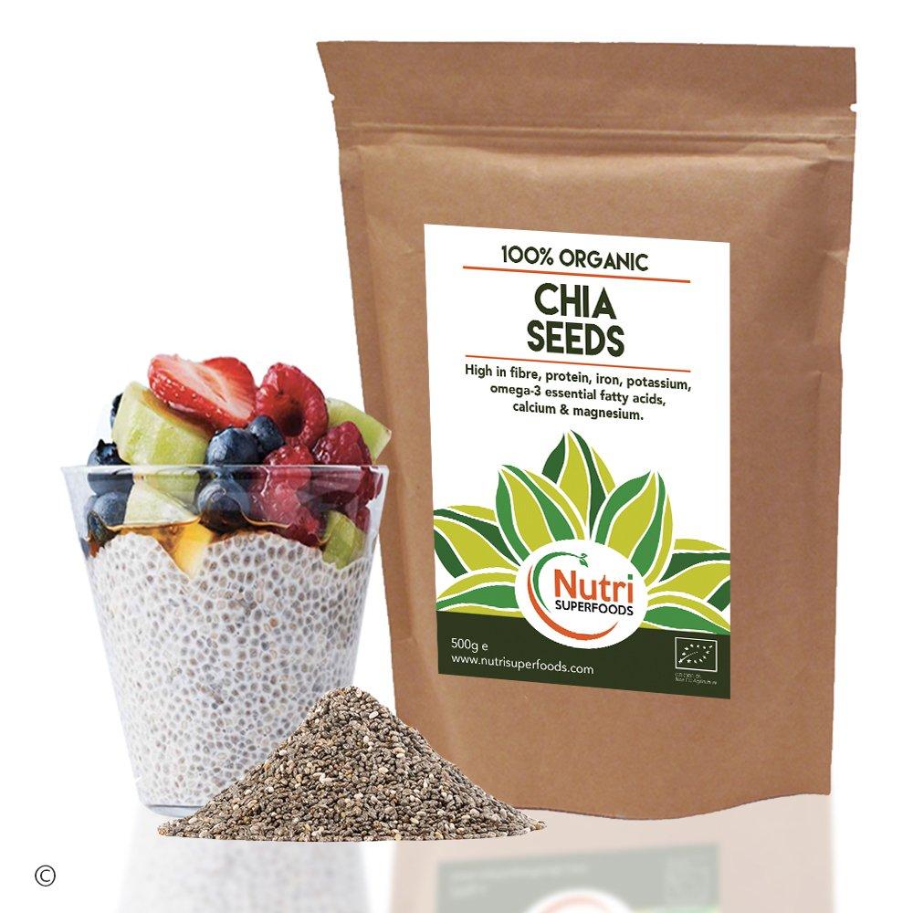 SEMILLAS DE CHÍA ORGÁNICA - Proteínas veganas crudas ...