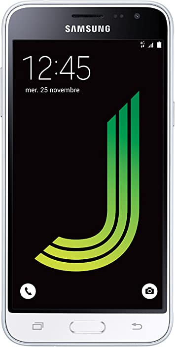 "Samsung Galaxy J3 – Smartphone de 5"", Color Blanco: Amazon.es ..."