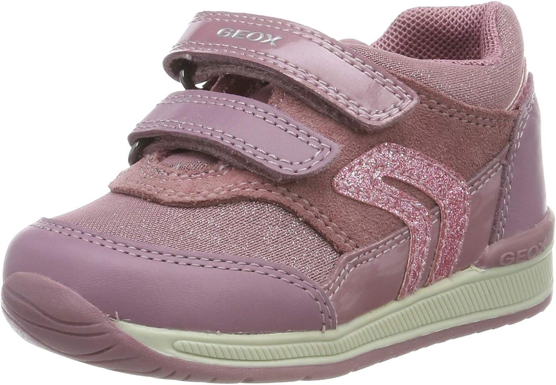 accidente modo Brújula  Geox Baby' B Rishon Girl a Low-Top Sneakers: Amazon.co.uk: Shoes & Bags