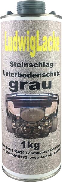 1 Kg Unterbodenschutz Grau Steinschlagschutz überlackierbar Mit Autolack Auto