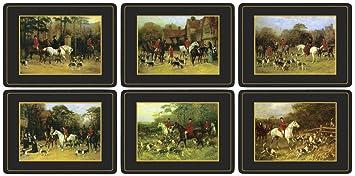 Pimpernel Lot de 6 sets de table Tally Ho: Amazon.fr: Cuisine & Maison