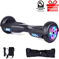 "EPCTEK 6.5"" Hoverboard, Self Balancing Hoverboards with LED Light Free Carry Bag - UL2272 Certified Hover Board for Adults Kids"
