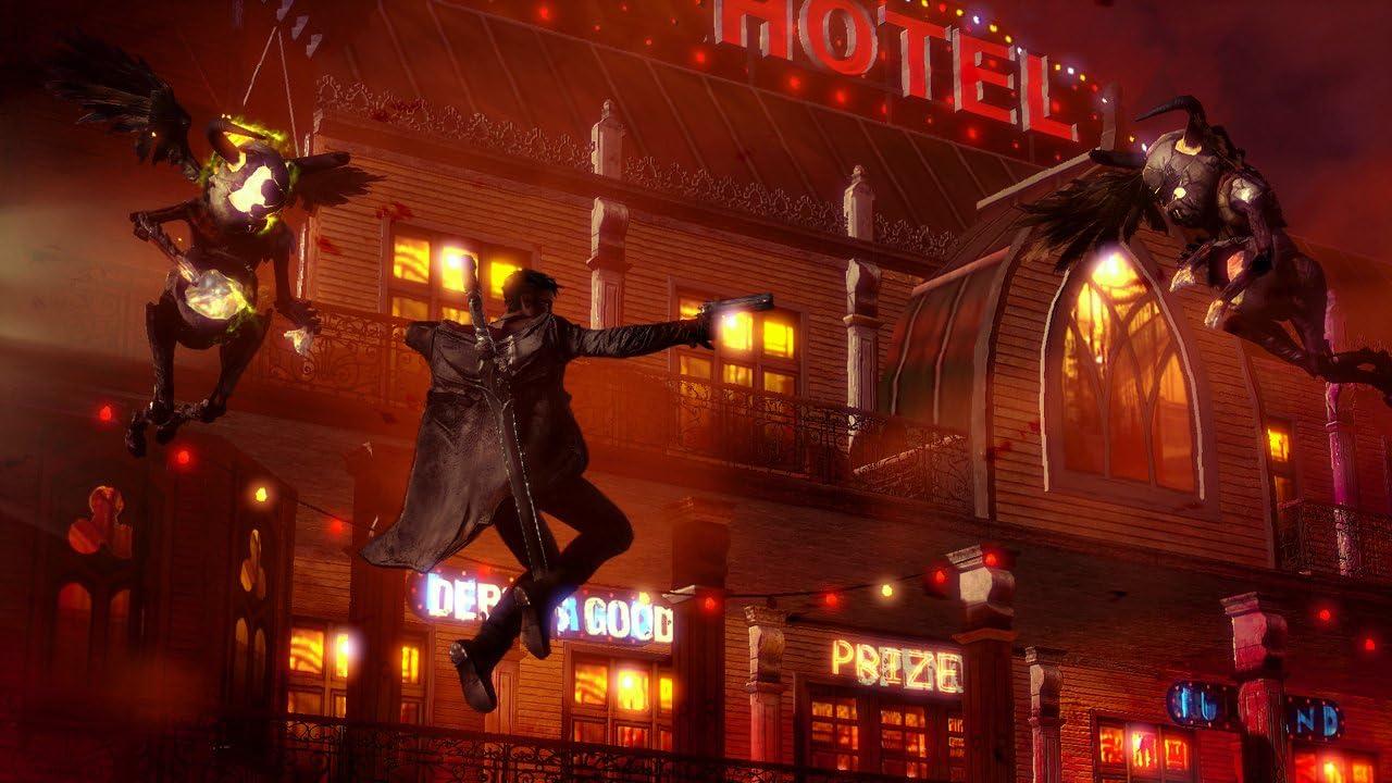 Amazon.com: DMC: Devil May Cry: Xbox 360: Capcom U S A Inc ...