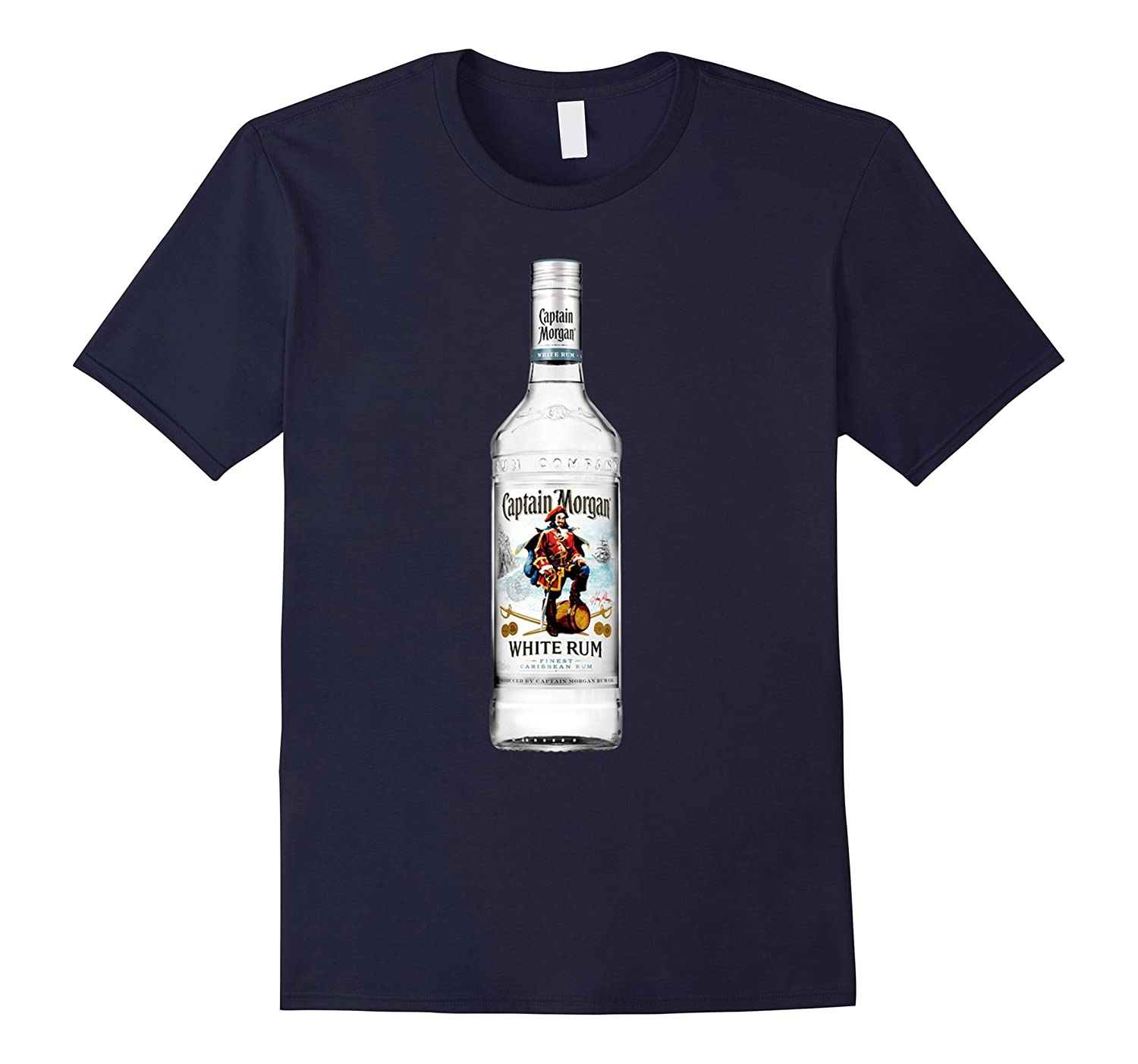 Captain Morgan White Rum Bottle Tshirt-BN