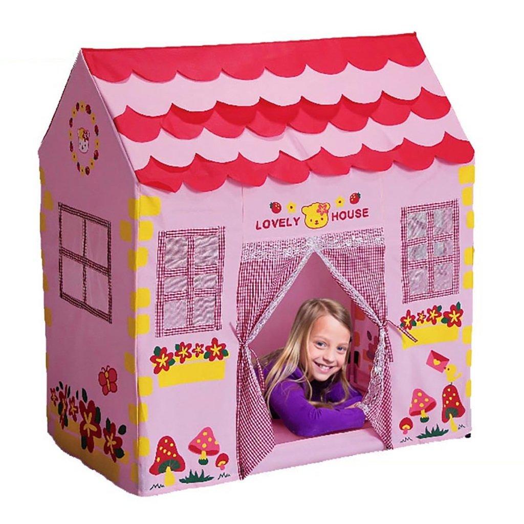 NAUY- Spielzeug & Spiele Kinder Spielzelt Spiel Playhouse Kinderspielzeug Spielhaus Indoor und Outdoor Kinderspielzelt (100 * 60 * 110cm)