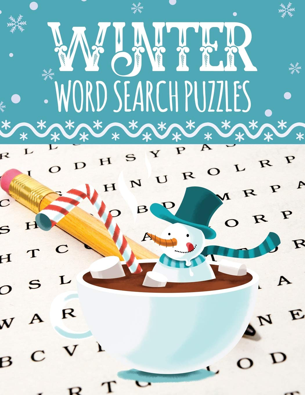 - Amazon.com: Winter Word Search Puzzles: Large Print Word Search