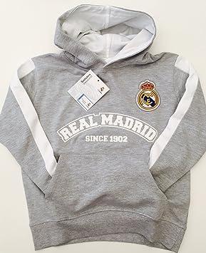 Real Madrid Sudadera con Capucha Junior Todos los tamaños  Amazon.es   Deportes y aire libre 4307e321457e6