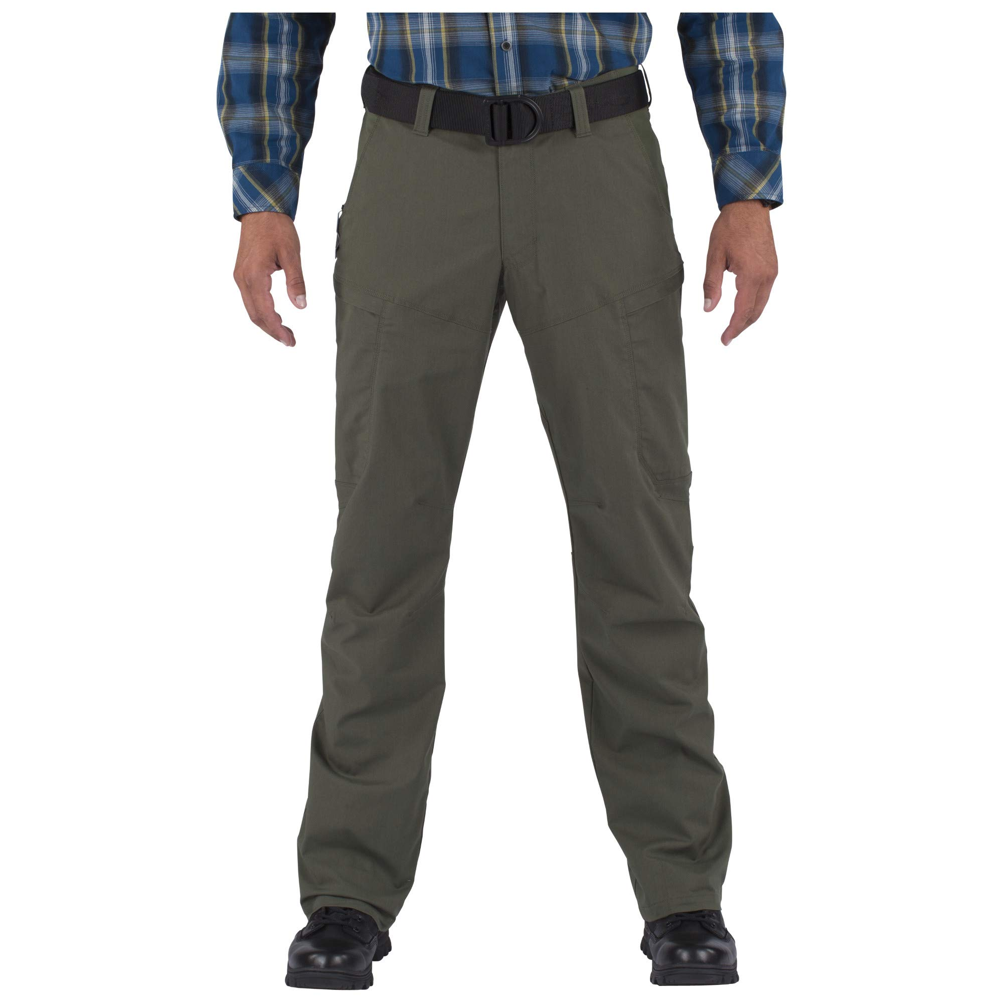 5.11 Men's APEX EDC Stealth Cargo Pocket Tactical Pant Style 74434, TDU Green, 33W x 32L by 5.11