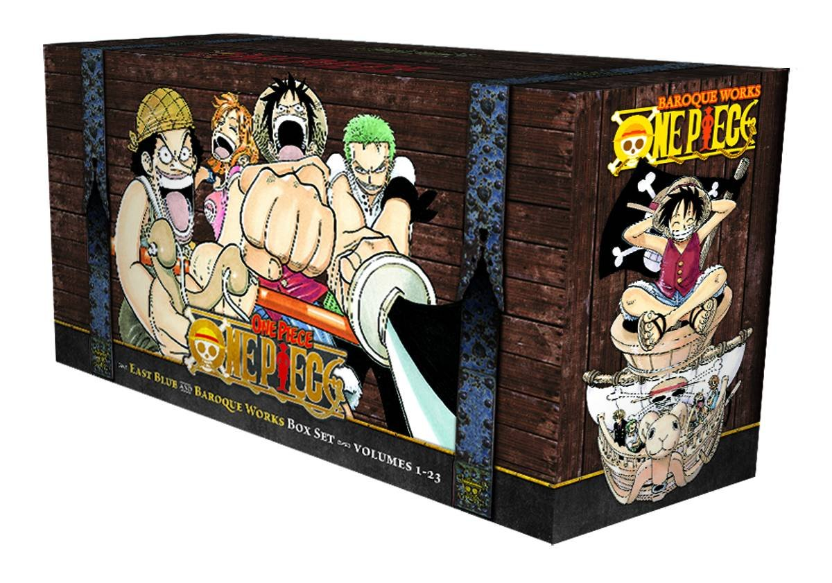 One Piece Box Set: East Blue and Baroque Works, Volumes 1-23 by VIZ Media LLC