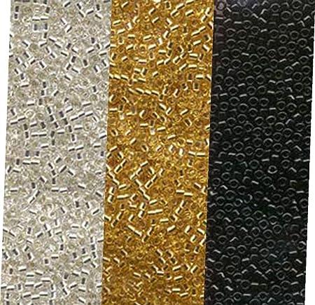 6 8 /& Size 11 Delica Miyuki Seed /& Delica Collection Galvanised Silver Size 11