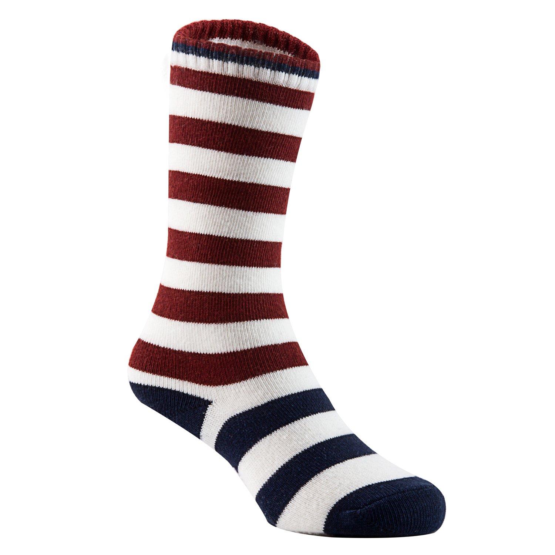 Lian LifeStyle Baby Children 6 Pairs Knee High Non-Skid Non-Slip Cotton Socks