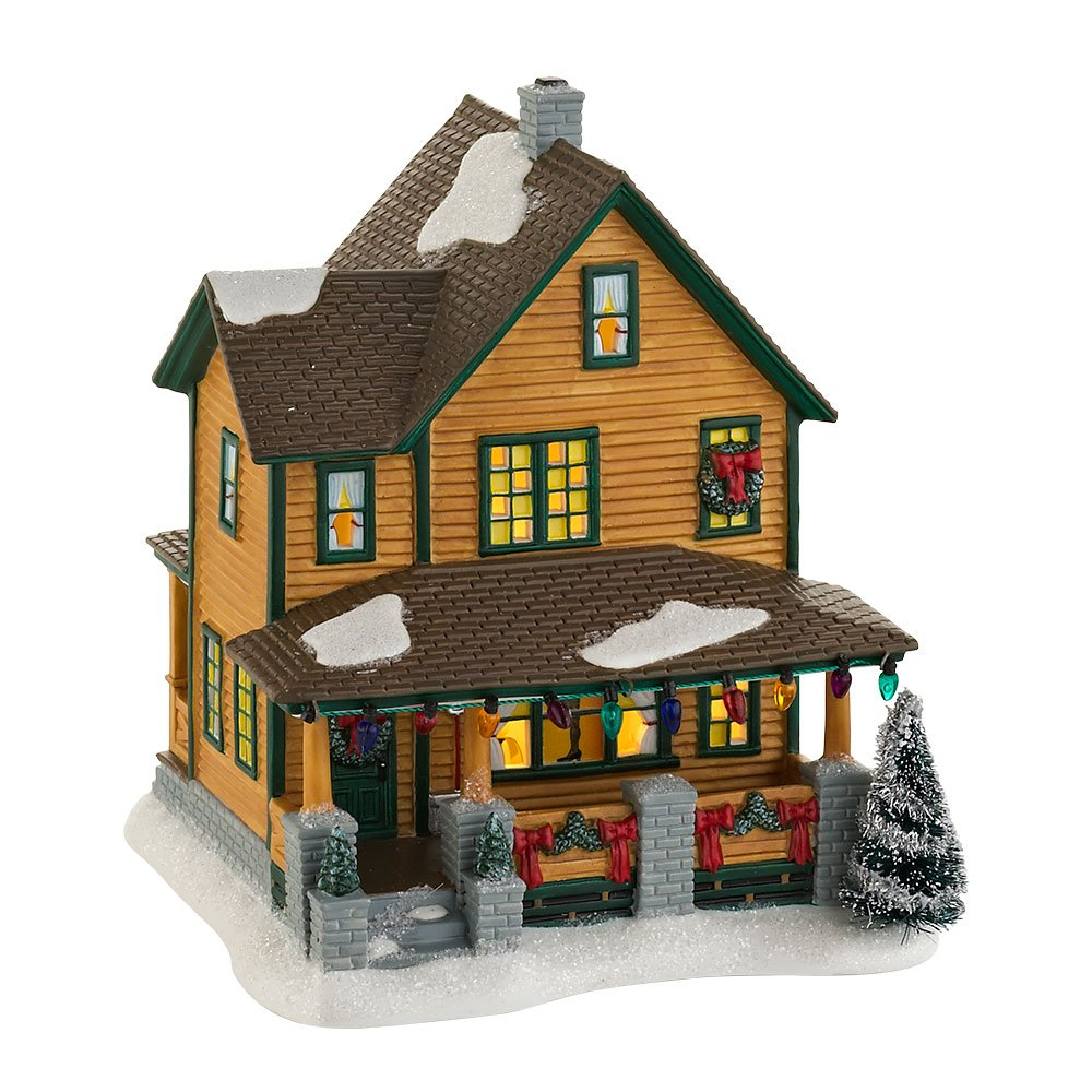Department 56 Christmas Story Village Ralphies House Lit Building by Department 56