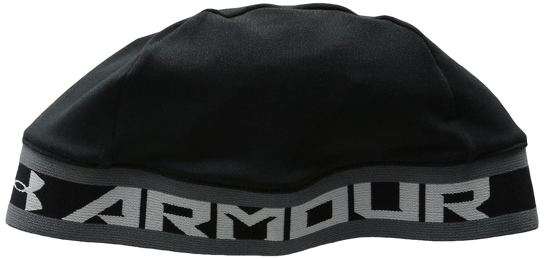 6189a1b1 Amazon.com: Under Armour Boys' Basic Skull Cap, Black (001)/White, One  Size: Sports & Outdoors