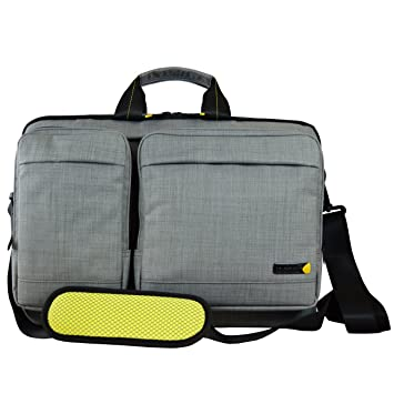 Techair EVO Magnetic Shoulder Bag for 15.6-Inch Laptop  Amazon.co.uk ... dd21e42fa8