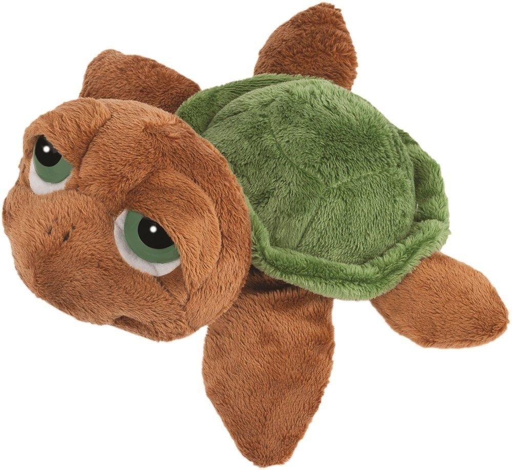 Suki Gifts Li'L Peepers Sandy Turtle Soft Boa Plush Toy (Medium, Brown/Green) BabyCenter 14181