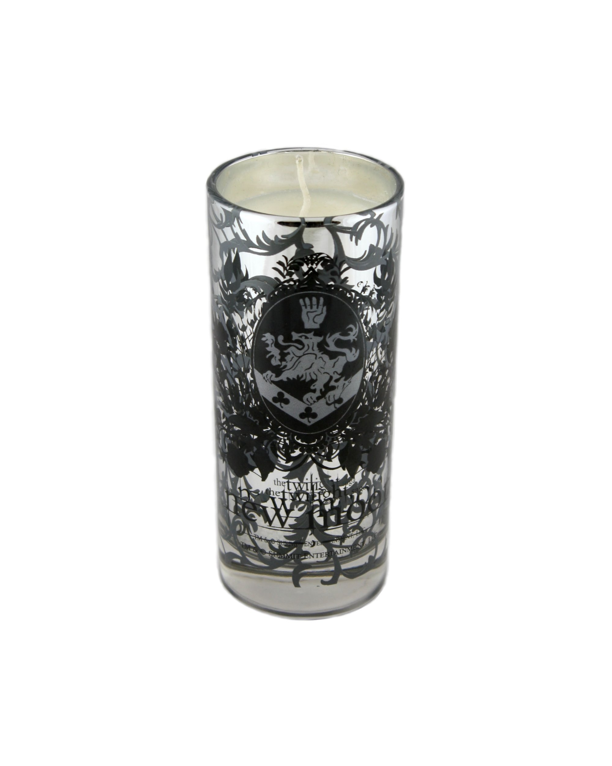 Twilight New Moon ''Cullen Crest'' Tall Glass Candle