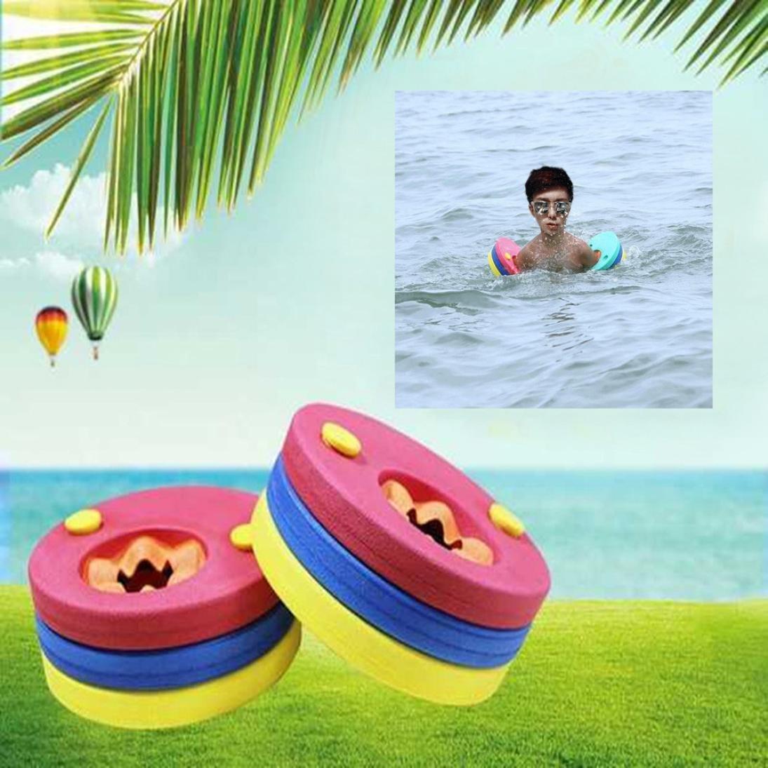 Manguitos de Natación para niños, hechos de Espuma Eva, Color Aleatorio (6 PC): Amazon.es: Deportes y aire libre