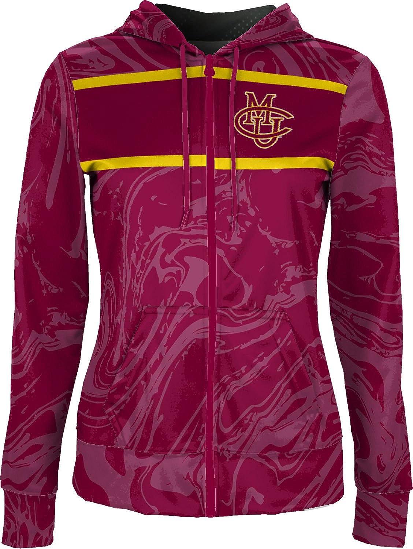 School Spirit Sweatshirt Ripple ProSphere Colorado Mesa University Girls Zipper Hoodie
