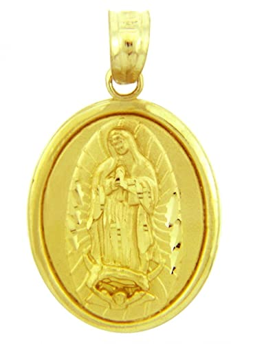 god yellow mother of virgin new mary collares golden hot blessed necklace pendant jewelry stainless uk medallion men for shop rope women cross chain